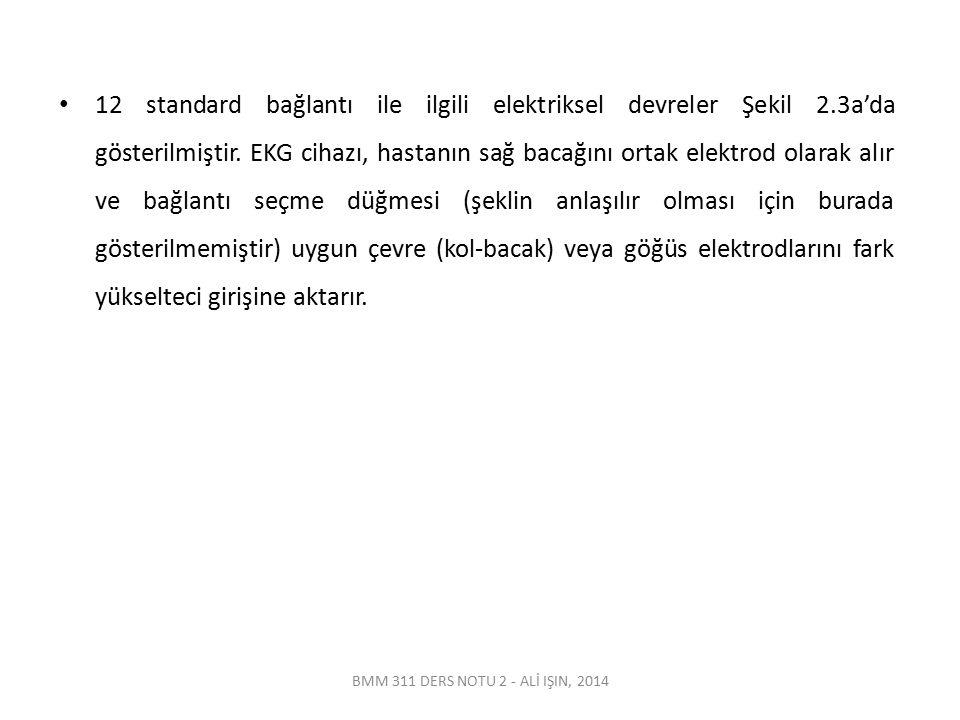 12 standard bağlantı ile ilgili elektriksel devreler Şekil 2