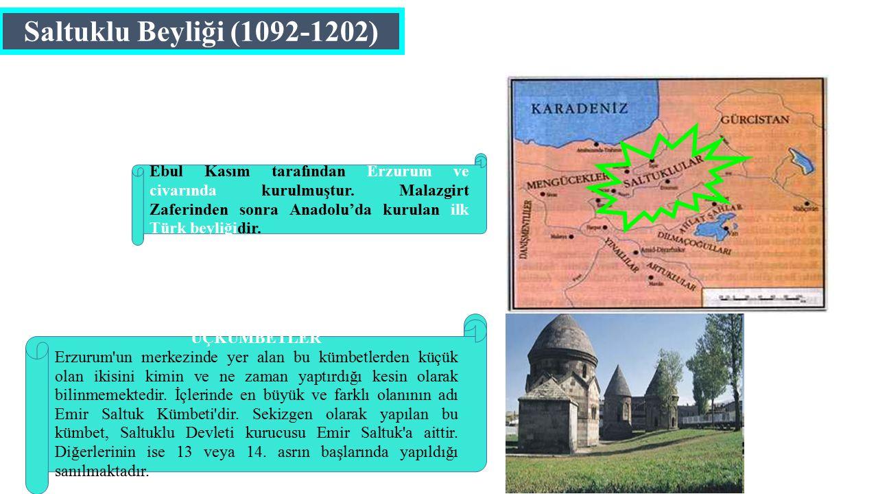 Saltuklu Beyliği (1092-1202)