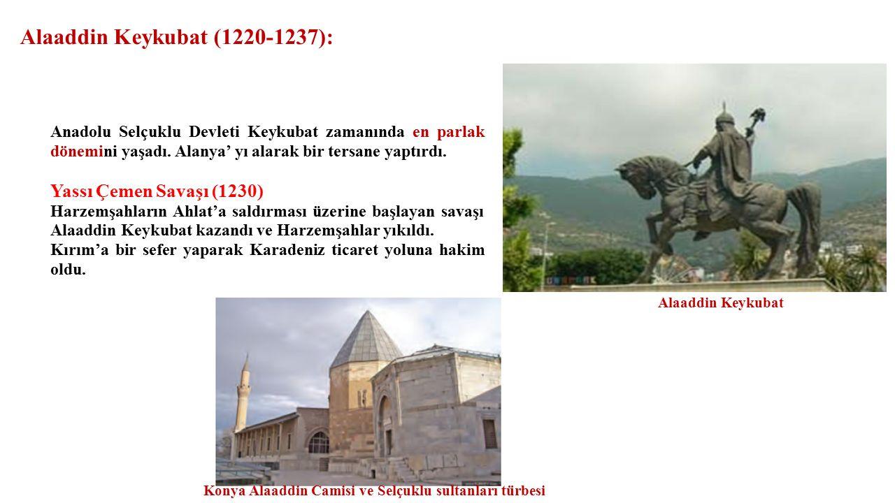 Alaaddin Keykubat (1220-1237):