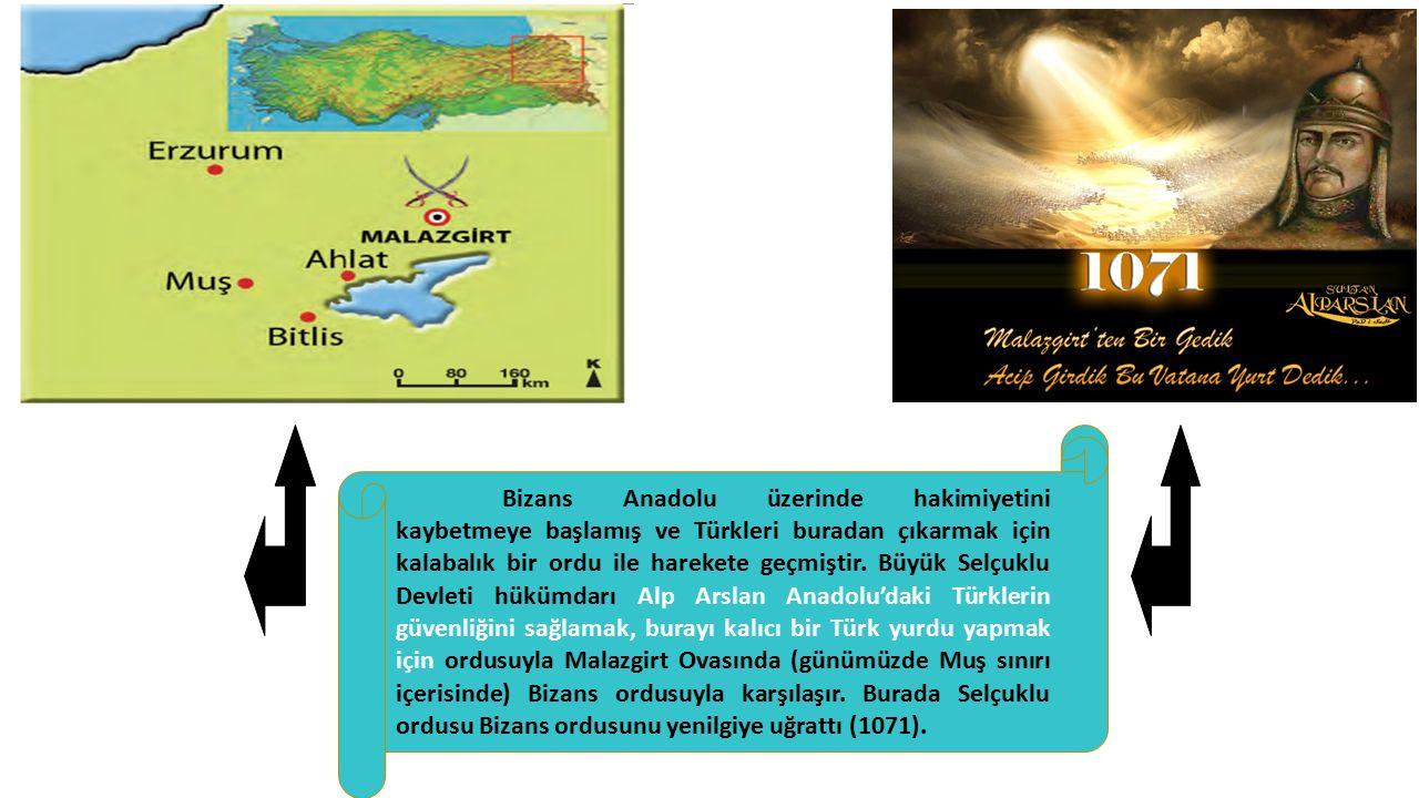 Bizans Anadolu üzerinde hakimiyetini kaybetmeye başlamış ve Türkleri buradan çıkarmak için kalabalık bir ordu ile harekete geçmiştir.