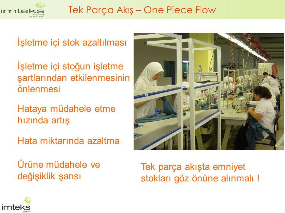 Tek Parça Akış – One Piece Flow