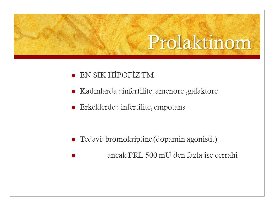 Prolaktinom EN SIK HİPOFİZ TM.