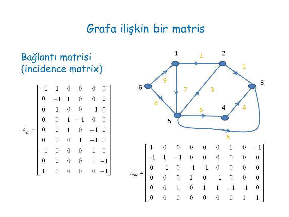 Grafa ilişkin bir matris