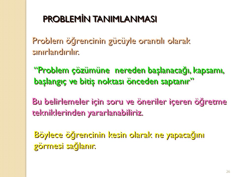 PROBLEMİN TANIMLANMASI