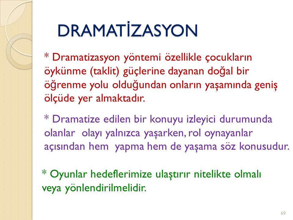 DRAMATİZASYON