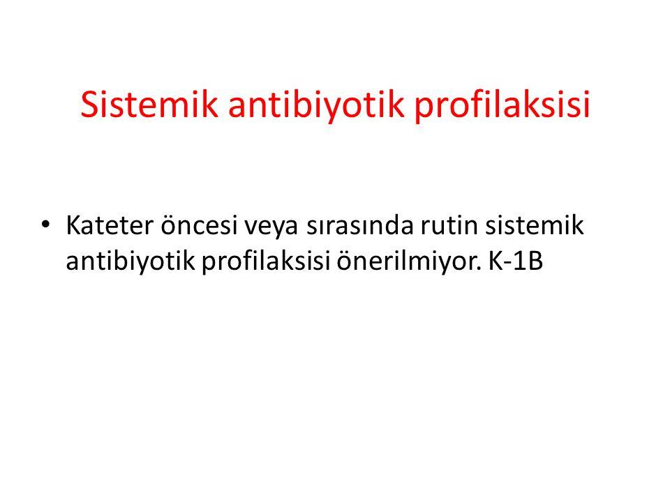 Sistemik antibiyotik profilaksisi