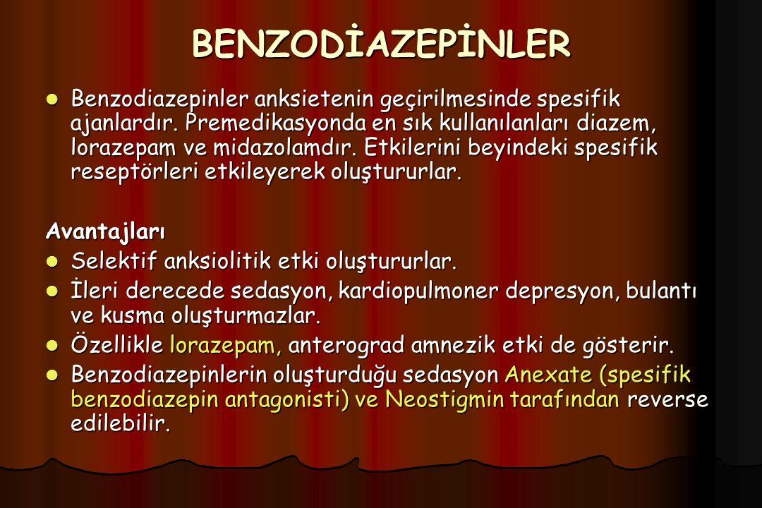 BENZODİAZEPİNLER