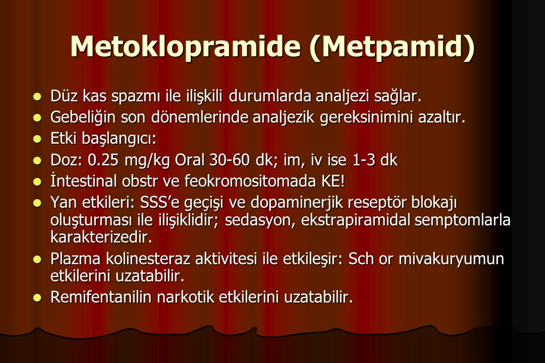 Metoklopramide (Metpamid)