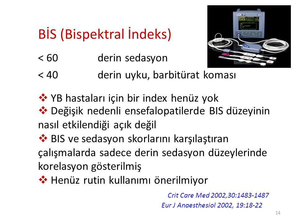 BİS (Bispektral İndeks)