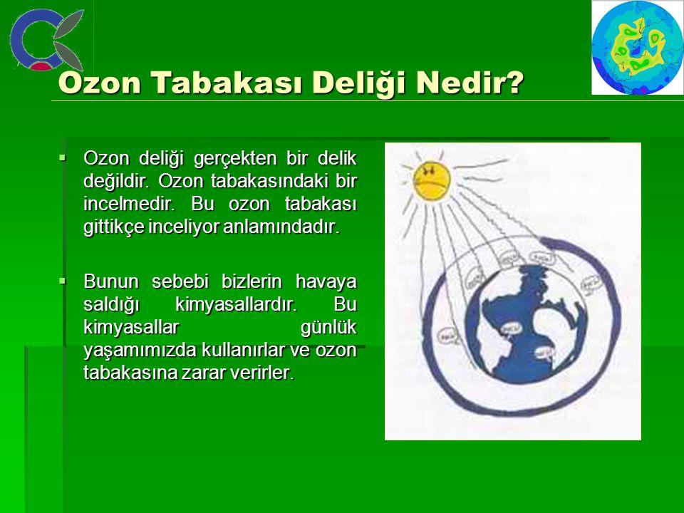 Ozon Tabakası Deliği Nedir