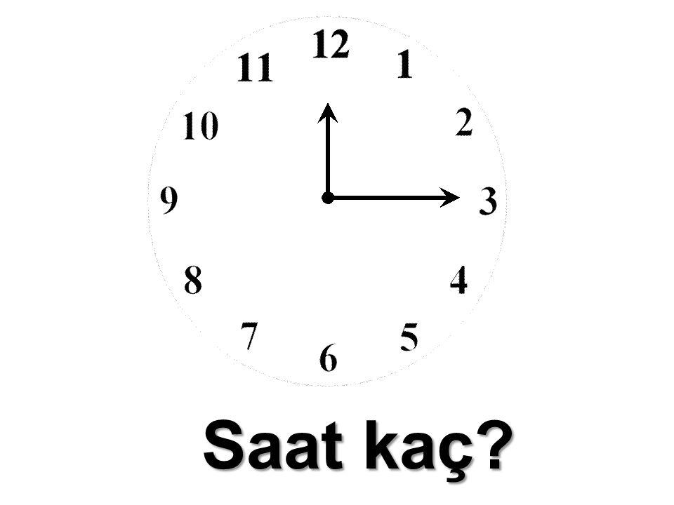 Saat kaç