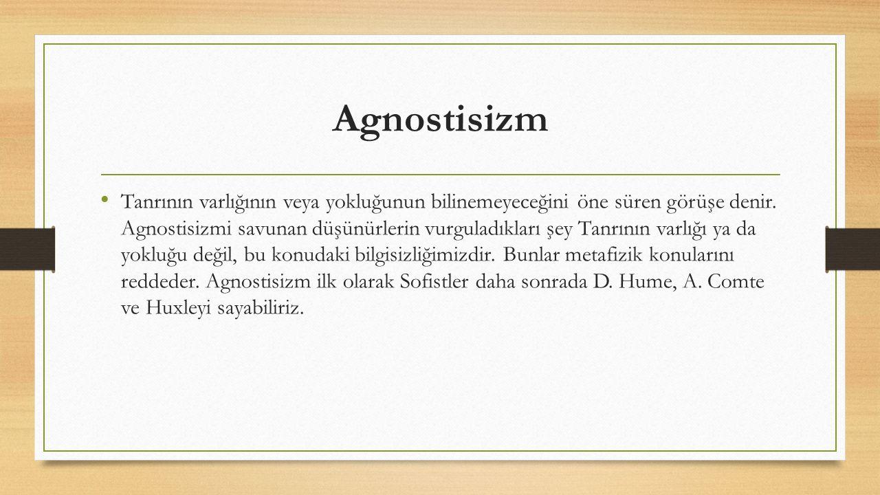 Agnostisizm
