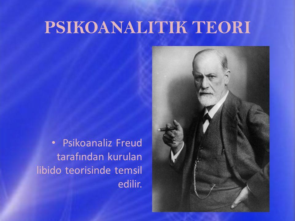 PSIKOANALITIK TEORI Psikoanaliz Freud tarafından kurulan libido teorisinde temsil edilir.