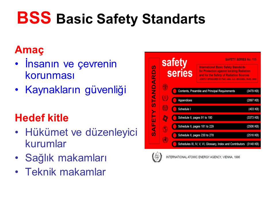 BSS Basic Safety Standarts