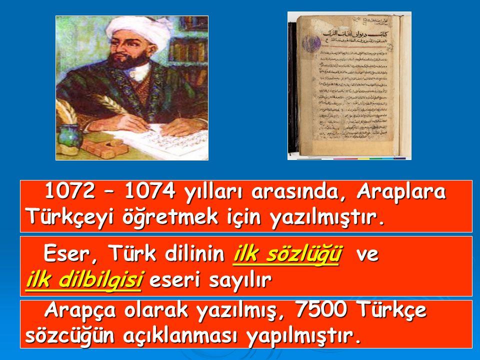 1072 – 1074 yılları arasında, Araplara