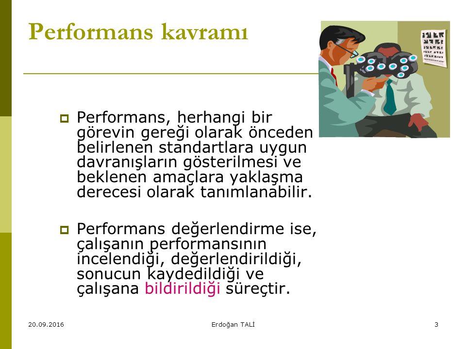 Performans kavramı