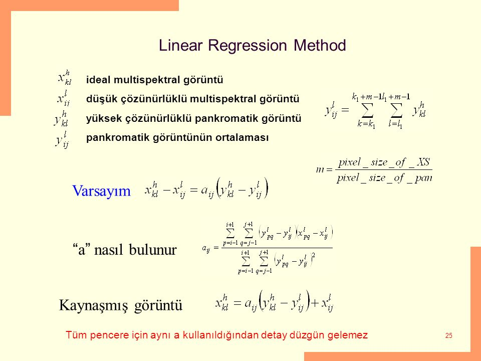 Linear Regression Method