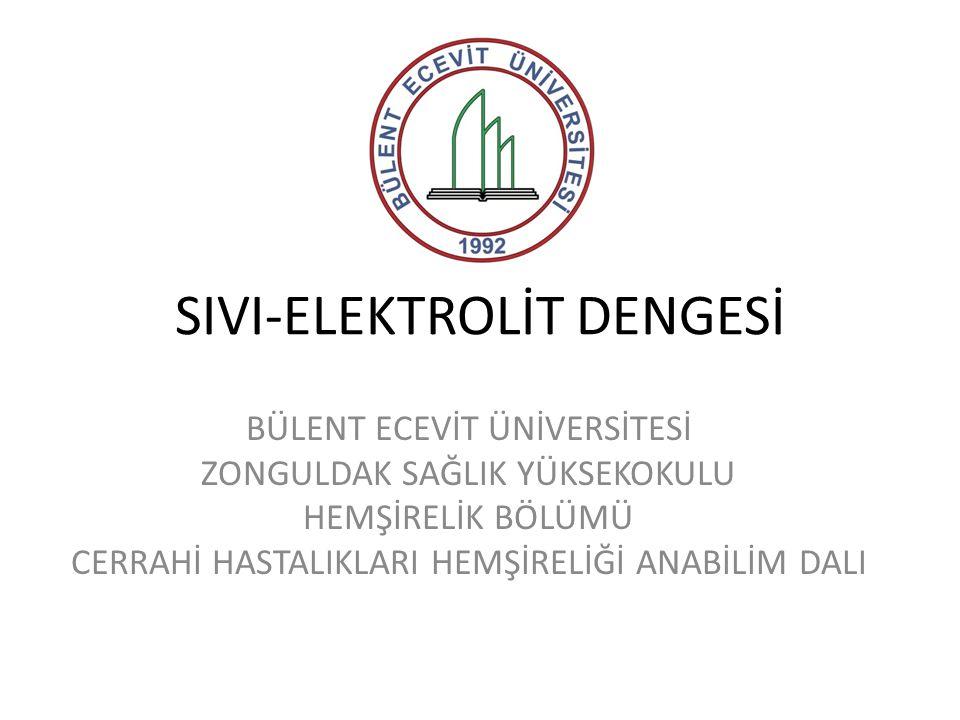 SIVI-ELEKTROLİT DENGESİ