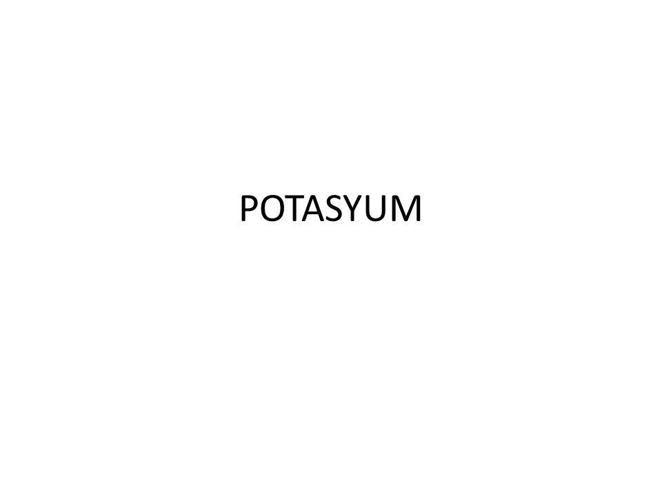 POTASYUM