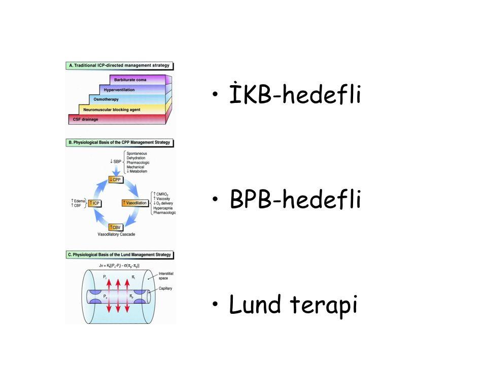 İKB-hedefli BPB-hedefli Lund terapi