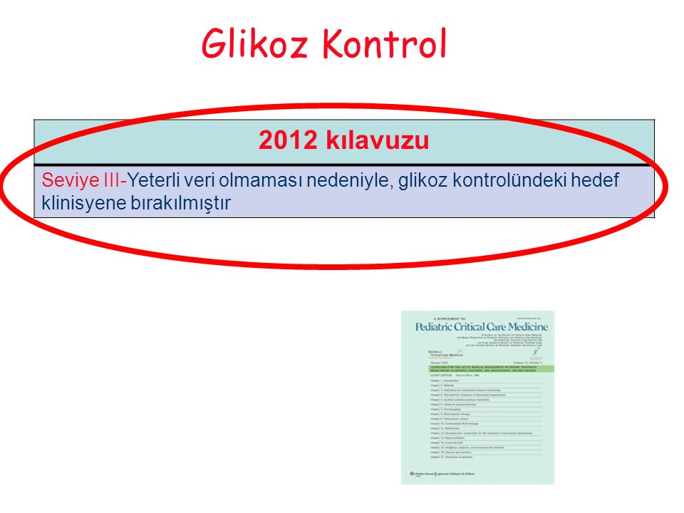 Glikoz Kontrol 2012 kılavuzu