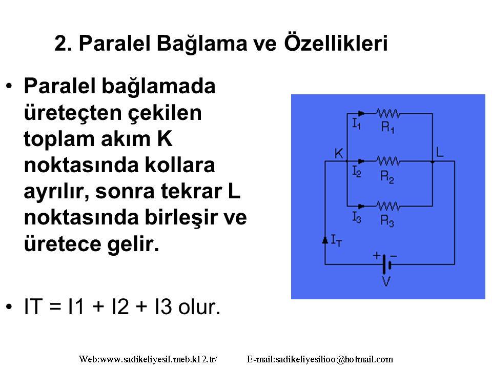 2. Paralel Bağlama ve Özellikleri