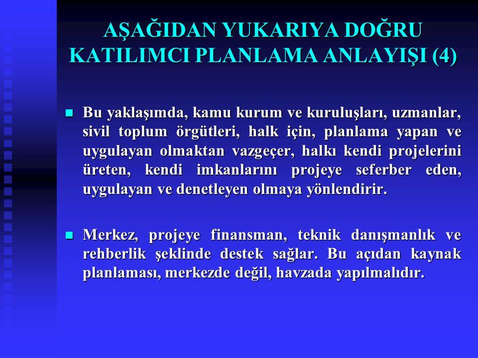 AŞAĞIDAN YUKARIYA DOĞRU KATILIMCI PLANLAMA ANLAYIŞI (4)