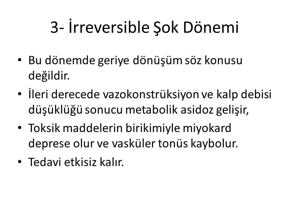 3- İrreversible Şok Dönemi