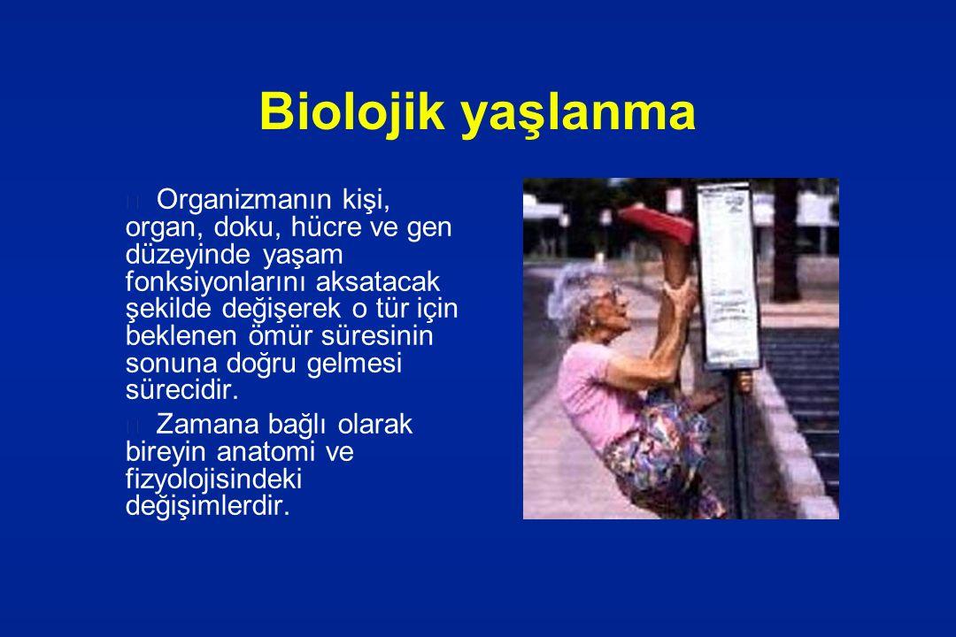 Biolojik yaşlanma