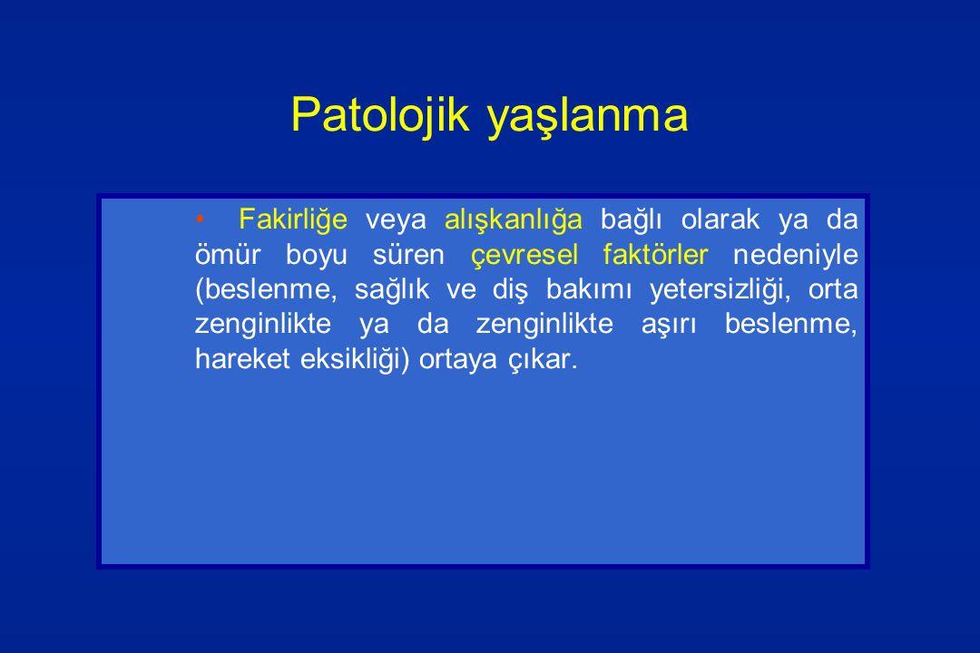 Patolojik yaşlanma