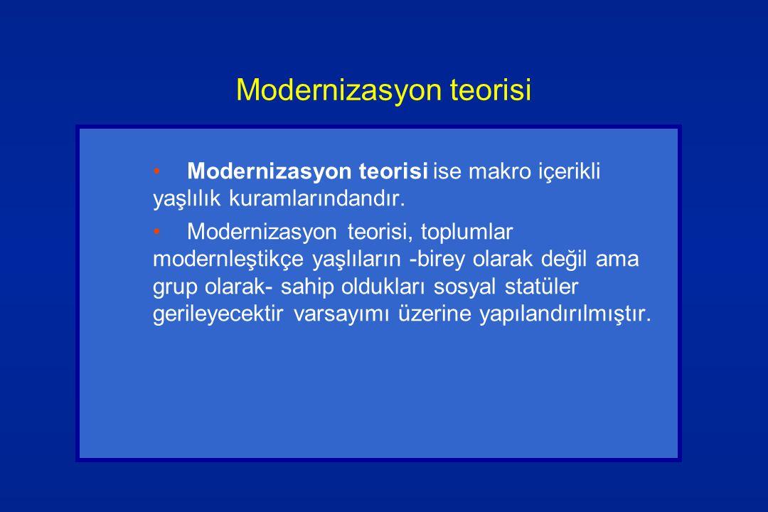 Modernizasyon teorisi