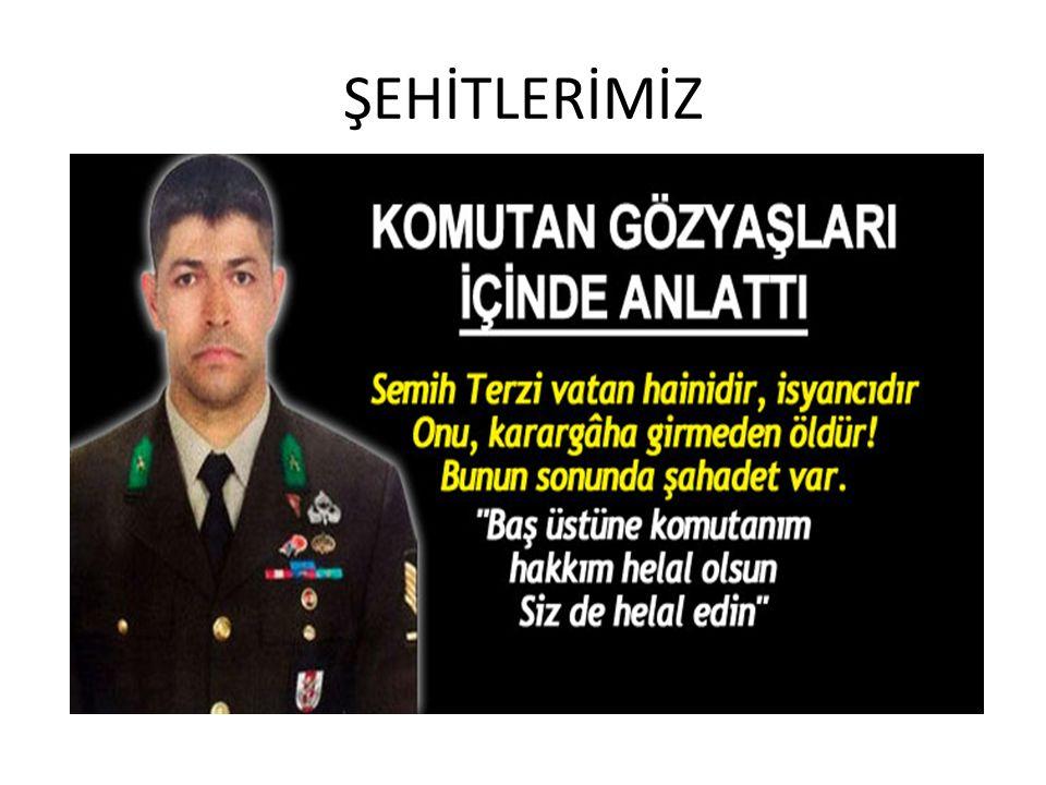ŞEHİTLERİMİZ
