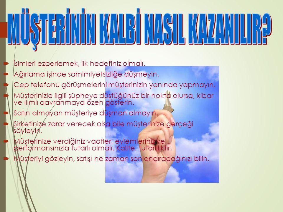MÜŞTERİNİN KALBİ NASIL KAZANILIR