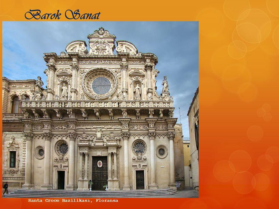 Barok Sanat Santa Croce Bazilikası, Floransa