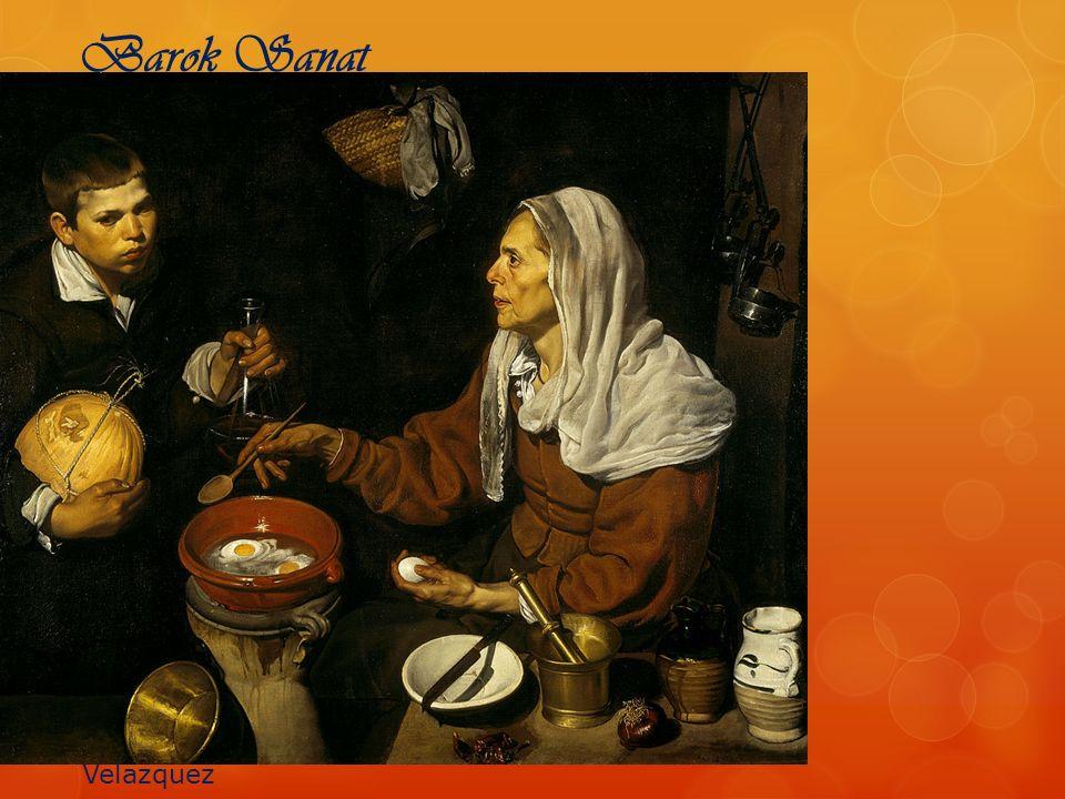 Barok Sanat Velazquez