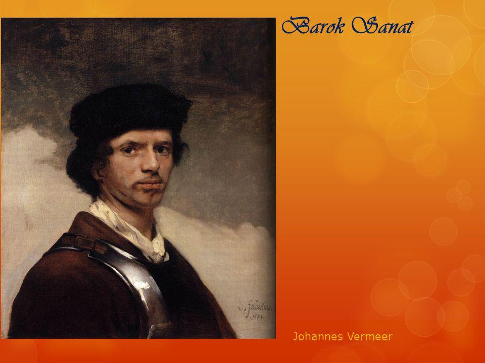 Barok Sanat Johannes Vermeer