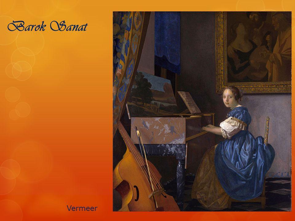 Barok Sanat Vermeer