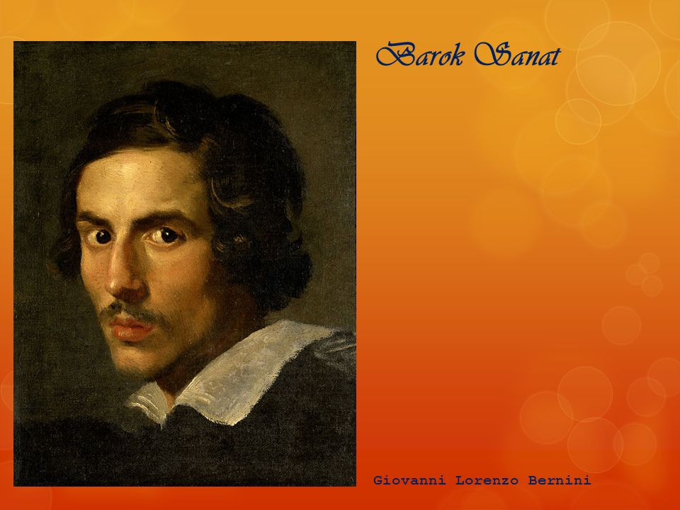 Barok Sanat Giovanni Lorenzo Bernini
