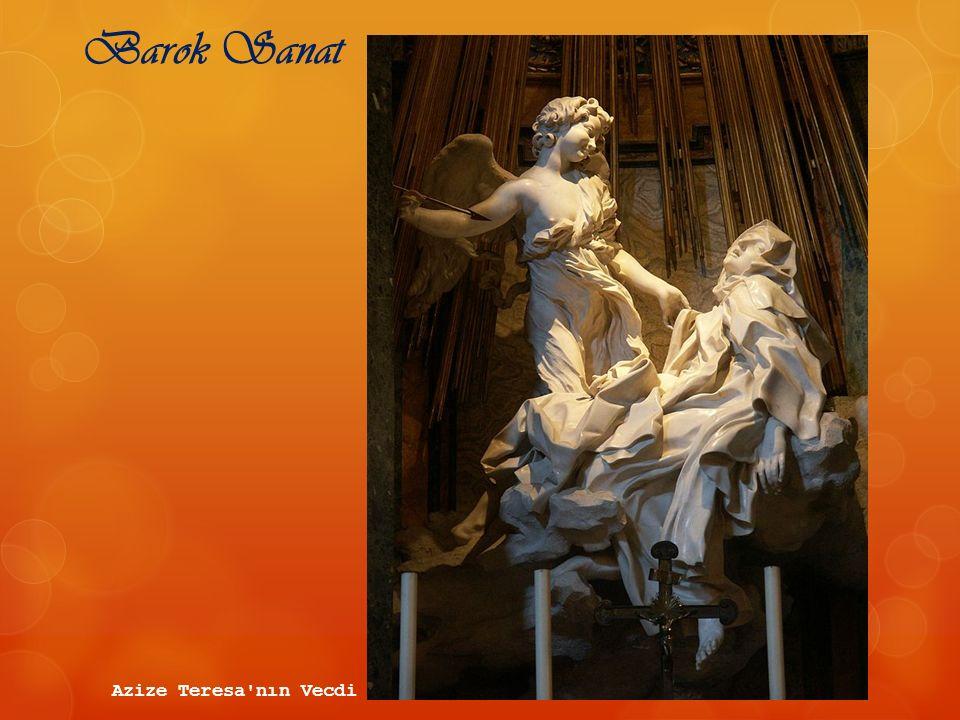 Barok Sanat Azize Teresa nın Vecdi