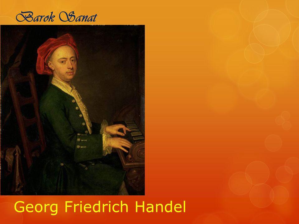 Barok Sanat Georg Friedrich Handel