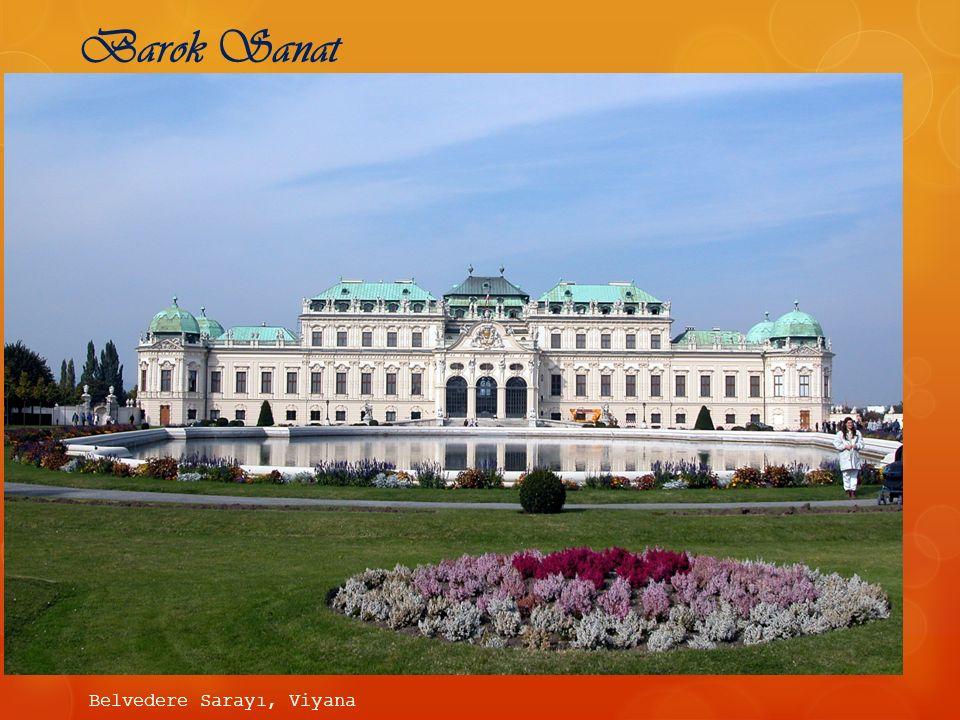 Barok Sanat Belvedere Sarayı, Viyana