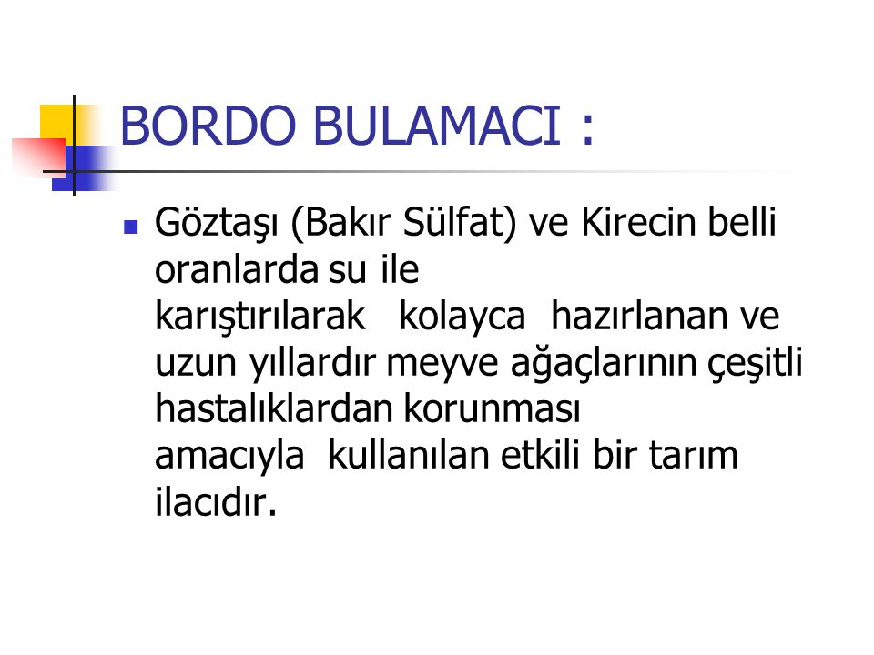 BORDO BULAMACI :
