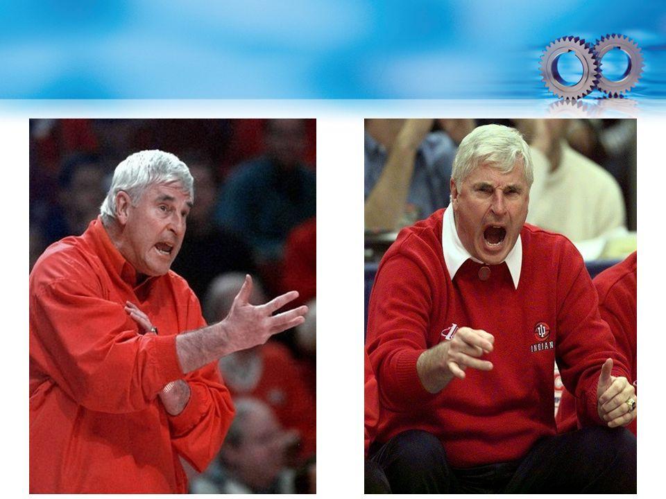 Kolay öfkelenen Texas Tech basketbol koçu Bobby Knight/ Duygulanım yoğunluklarını deneyimleme şekilleri kesinlikle farklıdır