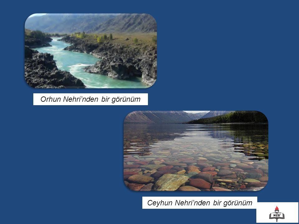 Orhun Nehri'nden bir görünüm