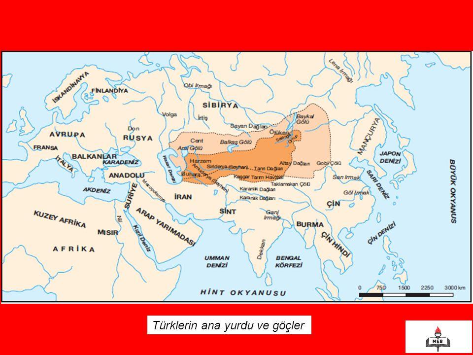 Türklerin ana yurdu ve göçler