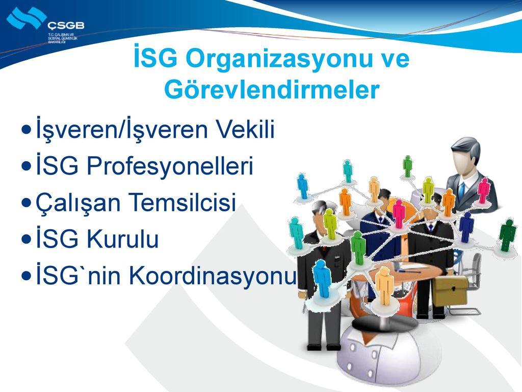İSG Organizasyonu ve Görevlendirmeler