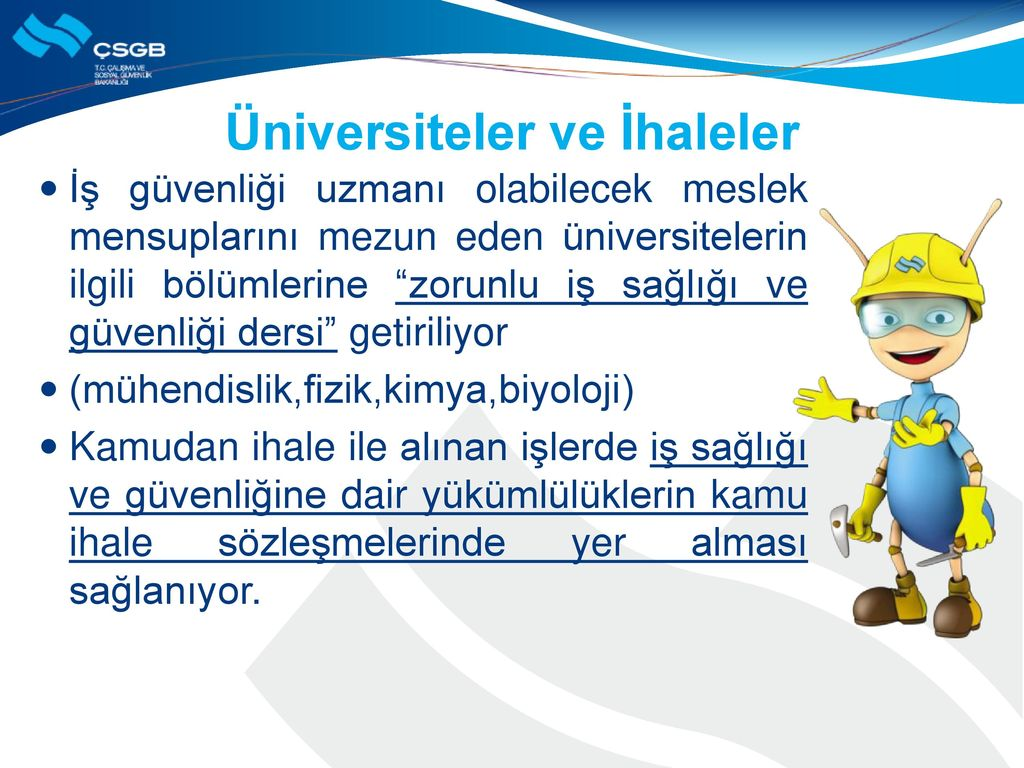 Üniversiteler ve İhaleler