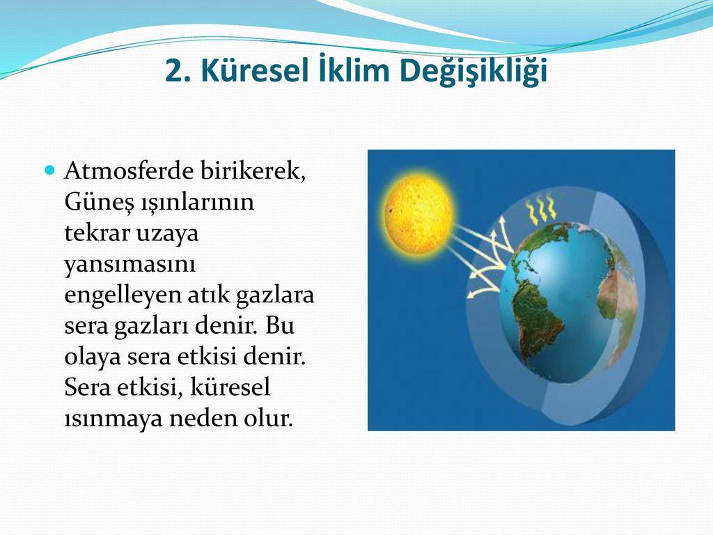 2. Küresel İklim Değişikliği
