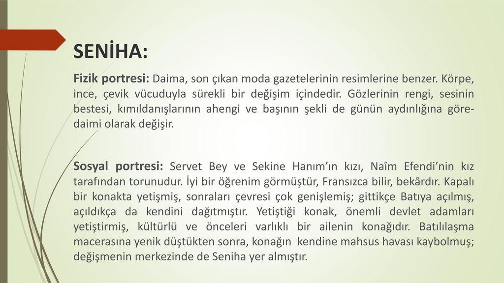 SENİHA: