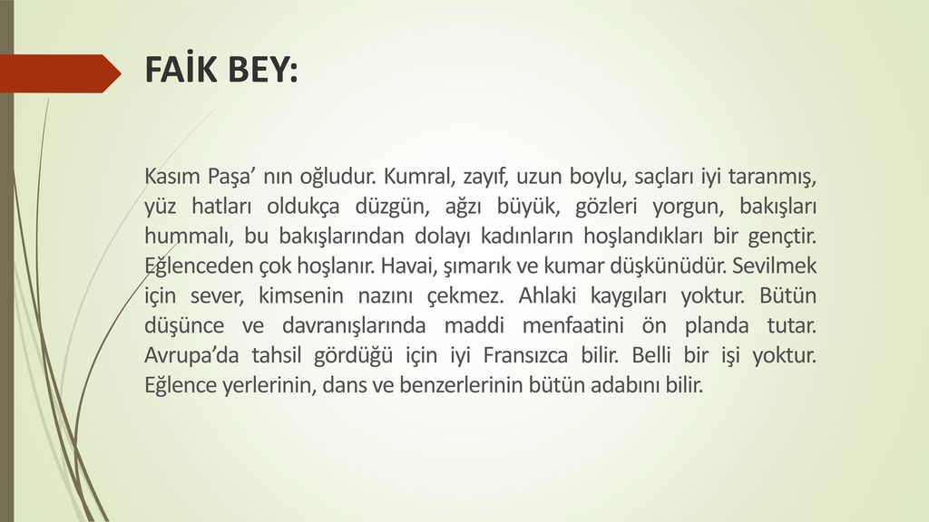 FAİK BEY: